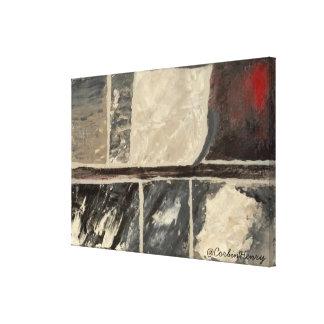 Mármol texturizado lona estirada galerías
