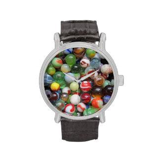 Mármoles del vintage reloj de mano