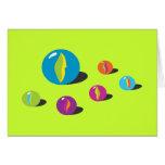 Mármoles frescos tarjeta de felicitación