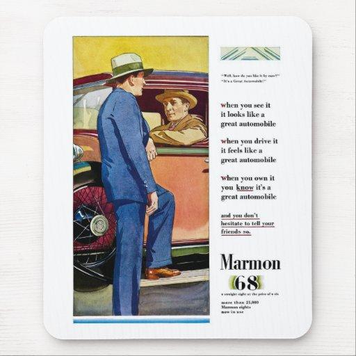 Marmon 68 - Vintage Automobile Advertisement Mouse Pad