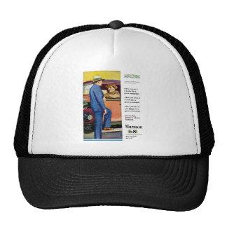 Marmon 68 - Vintage Automobile Advertisement Trucker Hat