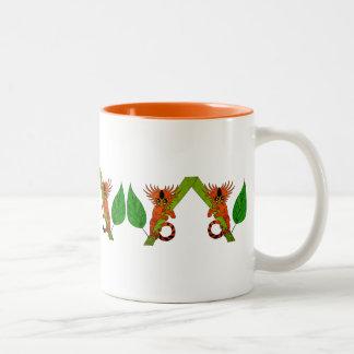 Marmoset enano tazas de café