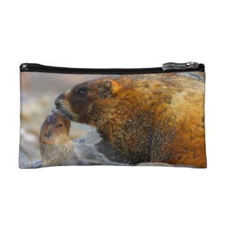 marmot and baby cosmetic bag