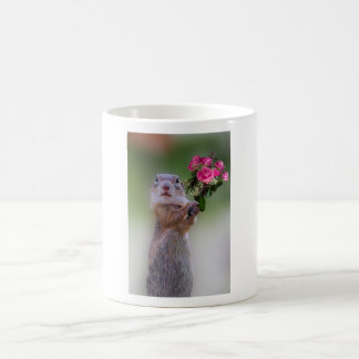 Marmot bouquet coffee mug