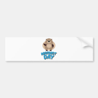 Marmot Day - Appreciation Day Bumper Sticker