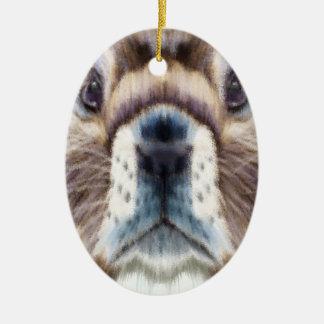 Marmot Day - Appreciation Day Ceramic Ornament