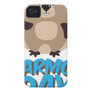 Marmot Day - Appreciation Day iPhone 4 Cover