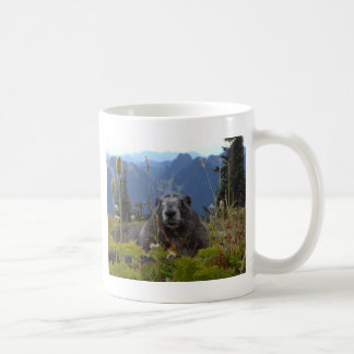 marmot in paradise coffee mug