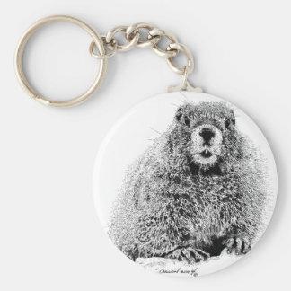 Marmot Keychain