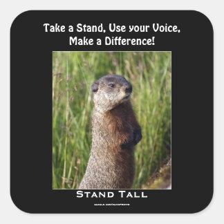 Marmot Motivational Sticker