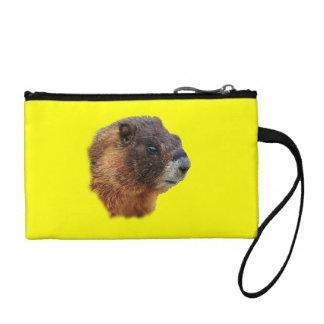 marmot portrait coin purses