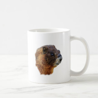 Marmot Portrait Coffee Mug