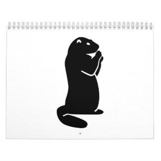 Marmota Calendario