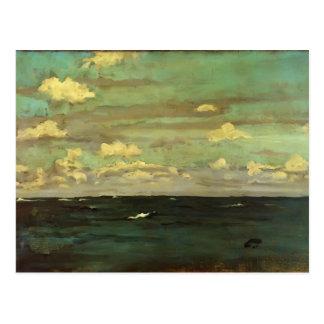 Marmota de James violeta y de plata - el mar profu Tarjetas Postales