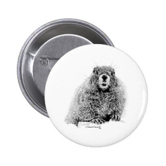 Marmota Pin Redondo 5 Cm