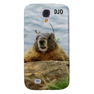 Marmota tímida de la roca por DJONeill Funda Para Samsung Galaxy S4