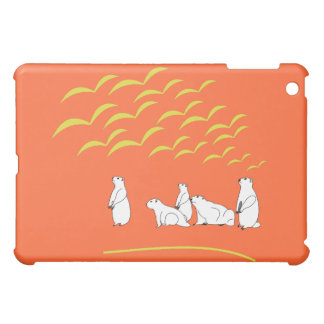 Marmots look at flying birds Speck Case iPad Mini Cover