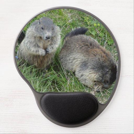 Marmots mousepad gel mousepad