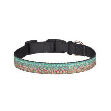 Hawaiian Themed Maroccan party 2 pet collar