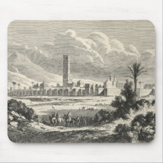 Marocco: Africa, 1860s Mouse Pad