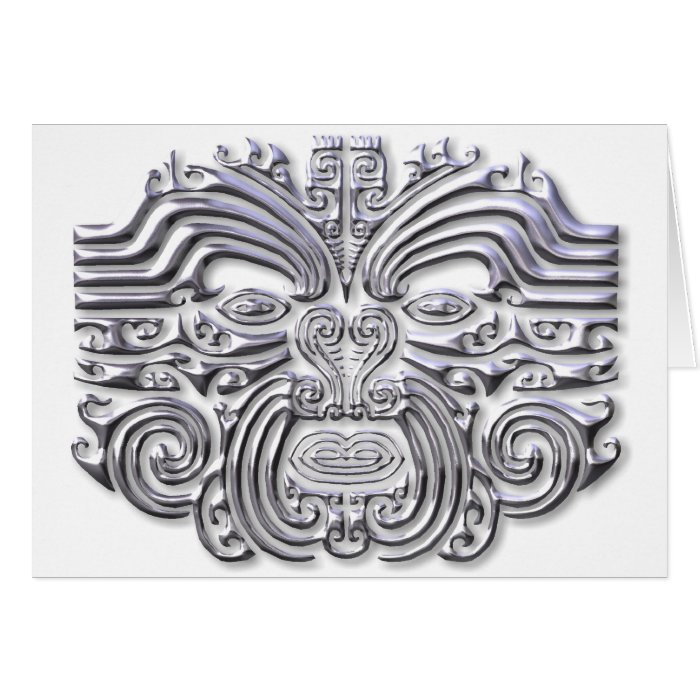 Maroi tattoo-silver card