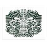 Maroi tattoo-stone postcard