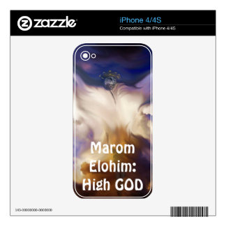 Marom Elohim: High GOD Decals For The iPhone 4