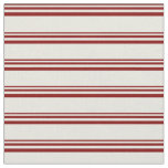 [ Thumbnail: Maroon and Beige Colored Pattern Fabric ]