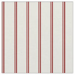 [ Thumbnail: Maroon and Beige Pattern of Stripes Fabric ]