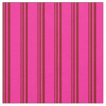 [ Thumbnail: Maroon and Deep Pink Lined/Striped Pattern Fabric ]