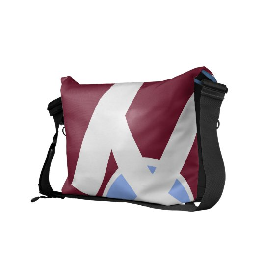 Maroon and Freedom Blue Bag