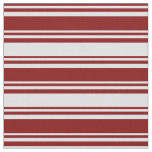 [ Thumbnail: Maroon and Lavender Colored Pattern of Stripes Fabric ]