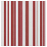 [ Thumbnail: Maroon and Lavender Lines Pattern Fabric ]