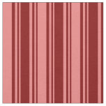 [ Thumbnail: Maroon and Light Coral Striped/Lined Pattern Fabric ]