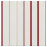 [ Thumbnail: Maroon and Light Cyan Colored Stripes Fabric ]