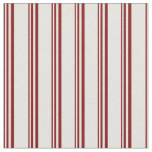 [ Thumbnail: Maroon and Light Cyan Colored Stripes Pattern Fabric ]