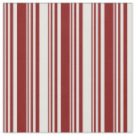 [ Thumbnail: Maroon and Light Cyan Lined/Striped Pattern Fabric ]