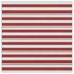 [ Thumbnail: Maroon and Light Cyan Stripes/Lines Pattern Fabric ]