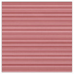 [ Thumbnail: Maroon and Light Pink Colored Pattern of Stripes Fabric ]