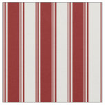 [ Thumbnail: Maroon and Light Yellow Colored Lines Fabric ]