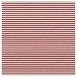 [ Thumbnail: Maroon and Light Yellow Striped/Lined Pattern Fabric ]