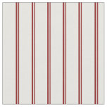 [ Thumbnail: Maroon and Mint Cream Striped/Lined Pattern Fabric ]