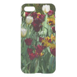 Maroon and Yellow Tulips Colorful Floral iPhone 7 Case