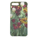 Maroon and Yellow Tulips Colorful Floral iPhone 7 Plus Case