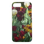 Maroon and Yellow Tulips Colorful Floral iPhone 8/7 Case