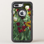 Maroon and Yellow Tulips Colorful Floral OtterBox Defender iPhone 7 Plus Case