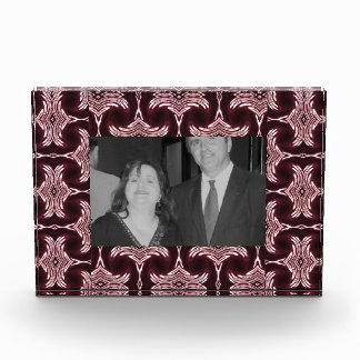 Maroon Art Deco Photoframe Acrylic Award