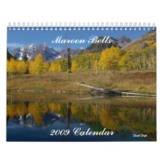 Maroon Bells 2009 Calendar - Custo... - Customized
