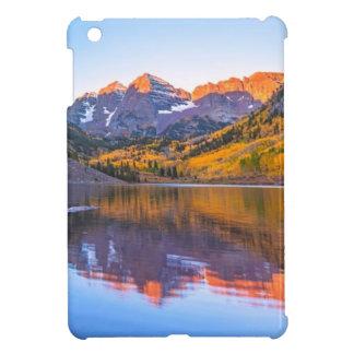 Maroon Bells Alpen Glow Cover For The iPad Mini