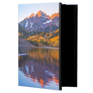 Maroon Bells Alpen Glow iPad Air Cover